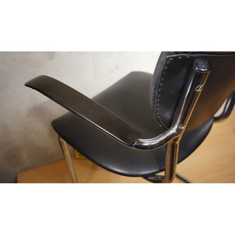 Originele Gispen Bureaustoel.Originele Vintage Designstoel Gebr De Wit No 3011