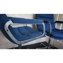 Prachtige Artifort design bureaustoelen - Hartcourt - blauw