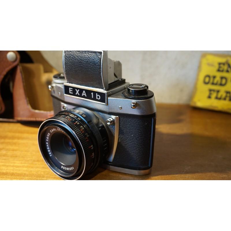 vintage EXA 1b camera + Carl Zeiss 2.8/50 lens