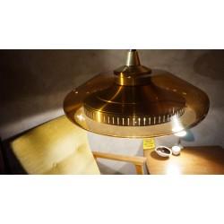 Prachtige vintage hanglamp - plexiglas - aluminium