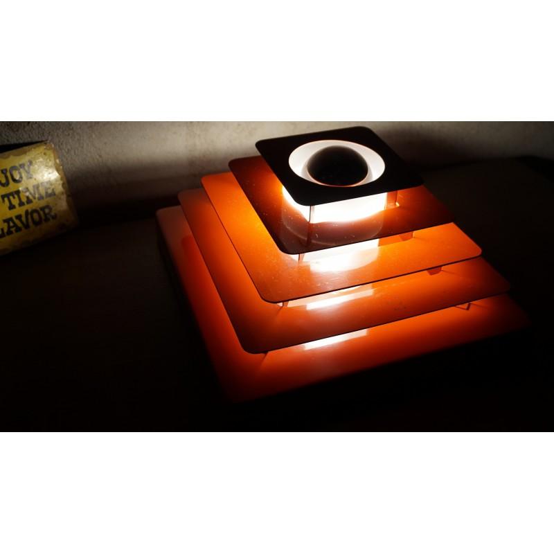 Prachtige Hustadt Leuchten - Multi-Layered Pyramid plafondlamp