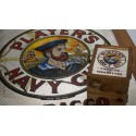 Player's Navy Cut - Tobacco and Cigarettes - spiegel en sigarendoosje