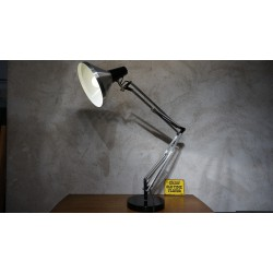 Vintage hala Terry Anglepoise bureaulamp op voet