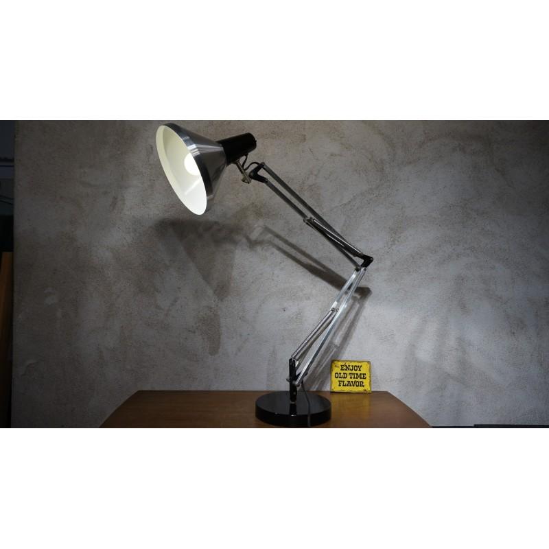 Vintage hala Terry Anglepoise bureaulamp op voet